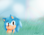 Sonic by HollyBjeam