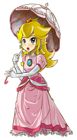 Princess Peach Toadstool by Daboya