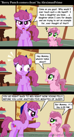 Berry Punch comes clean by AleximusPrime