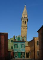LEANING TOWER OF BURANO by TADBEER