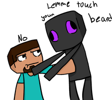 Lemme touch your beard by TheSilverPie