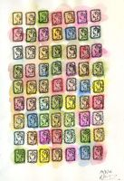stamping by pollywriggle