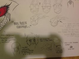Big poster sketch dump pratice or whatever 3 by XxMoonlightWolveXx
