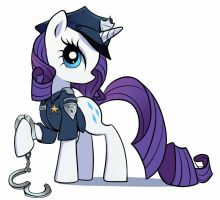 Officer Rarity by GSphere