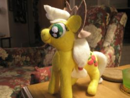AppleJack Plushie by Vulpes-Canis