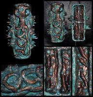 MALCOLM HODGE CTHULHU IDOL 4 CRYPT ABOMINABLE ONES by mortonskull