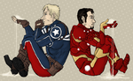 AVENGERS : time slip away by LadyNorthstar