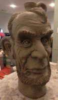 Abe Jug in process by thebigduluth