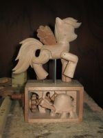 Rainbow Dash Unpainted by renegadecow