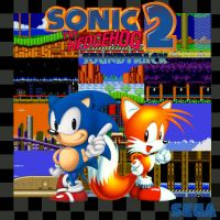 Sonic 2 Album Cover by Death-Cannon