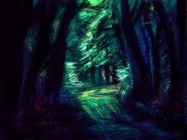 The Forest Path by Shadowsprint