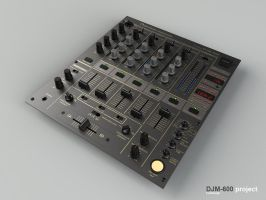 Pionner djm 600 advance by 3DEricDesign