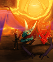 Commission - Command of Jakiro by DeadlyObsession