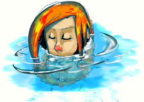 IN THE WATER by arinfu