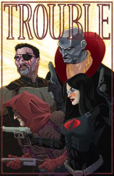 GI JOE Origins 22 TROUBLE by gatchatom
