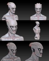 Grey in Zbrush by batchix