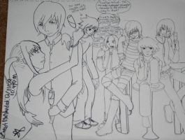 Last Pic of 2009? WIP by iHeartPigs0618