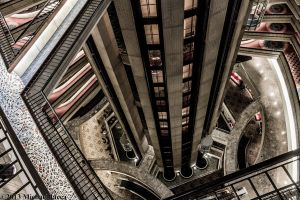 The Atlanta Marriott Marquis 1 by Insane-Pencil