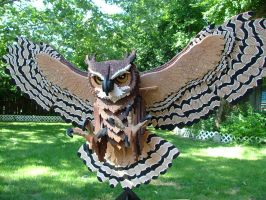 Great Horned Owl by RamageArt