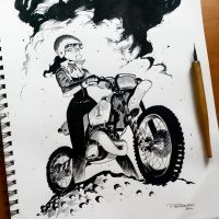 Inktober day 21 by raultrevino