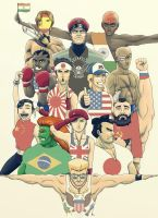 Street Fighter World by FieryStampede