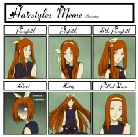 Hairstyle Meme by Kumkrum