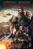 METAL GEAR SOLID V THE PHANTOM PAIN by amirulhafiz