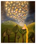 The Floating Lights by Terrauh