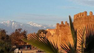 Wall and Mount in Taroudant by to3aso