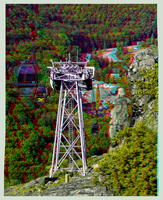 Teleferic of Thale 3D ::: DRi Anaglyph Stereoscopy by zour