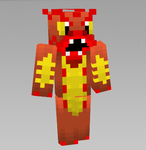 preview of Fire Dragon mc skin by SnapDragonStudios
