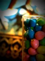 glass of candy by LBBPhotography