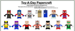 Toy-A-Day Papercraft by CyberDrone2-0