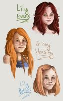 Redhead Invasion by Meggits