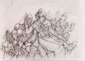 AC: Revelations Sketch by MatthewHogben