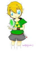 Link's first rupee :3 by beautifullyxbroken13
