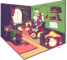 Christmas Morning by therry