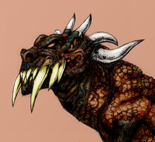 The oldest of the old II - (character develop stag by M-Link