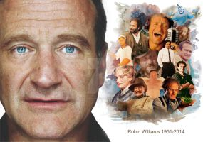 Robin Williams by revisoryvirus