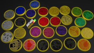 KROOO All Core Medals by Kipphi