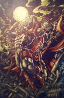SPAWN BATTLE ARTIST by CharlyChive