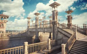 Bridge of Cheirocrates - Octane by jacktomalin