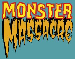 MONSTER MASSACRE logo by DeevElliott