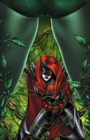 Ivy and Batwoman by BlondTheColorist