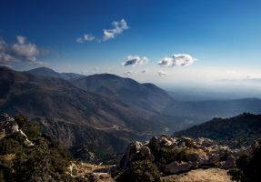 on the Cretan mountains by VaggelisFragiadakis