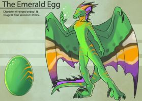 The Emerald Egg by Ulario