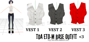 Vest 1 2 3 - MMD DOWNLOAD by ela-stellar