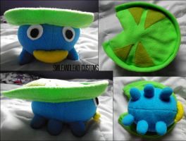 Lotad Plush by SmileAndLead