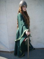 Medieval Green Stock IV by DanielleFioreModel