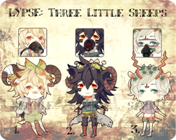 [CLOSED] LYPSE: Three Little Sheeps by Serendipiter